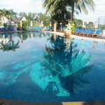 Orhidasea hotel pools.