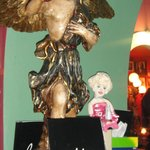 Baroque decadence. And Marilyn.