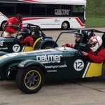 Ready for sideways fun in the Caterham 7s