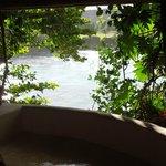 Bath tub in Fig Tree hut
