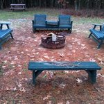 Fire Pit area for Bear's Den