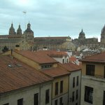 View from Room 212 of Salamanca Cathedral