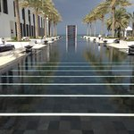 The Long Pool (103 m).  Chairs on the sunny side are taken by 8:30 am during high season - be ea
