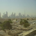 Dubai Skyline - view from room 420