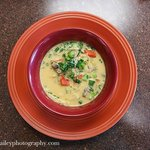 A favorite! Thai lemongrass infused coconut milk soup