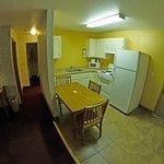 Cozinha, sala e circulação