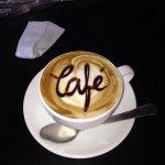 Cafe en año nuevo