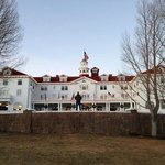 the Stanley Hotel in Winter