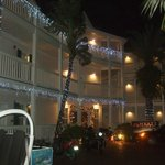 Front of hotel, street side