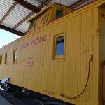 Rail car in the museum
