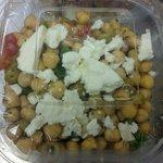 Greek Bean Salad w/Goat Cheese