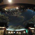 Ceiling inside of Hard Rock