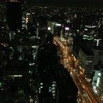 渋谷を見下ろす
