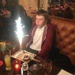 Tom's 16th birthday celebrations