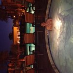 Hot tub at night!