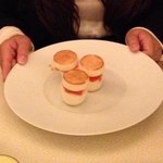 Blini of Scottish Smoked Salmon