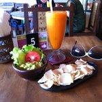 Guacemole en lekkere sapjes