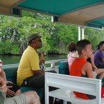 Mr. Pugh with us on Black River Safari (in yellow shirt)