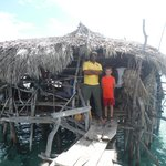 Mr. Pugh at Pelican Bar with my youngest son