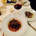 Osso Bucco and Porcini Mushroom Dish
