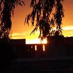 Sunset from KosyBar across Bahia Palace