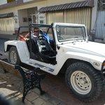 Adolfo's badass jeep