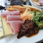 The prefect Ploughman's Lunch from the Conservatory Restaurant.