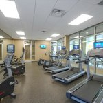 Fitness Center with Personal TV's