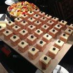 Desserts at the Bonthi Restaurant