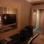 Flat screen tv in room
