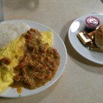 Crawfish etouffee omelet