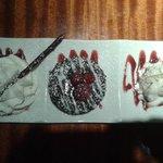 Warm Double Chocolate Raspberry Lava Cake