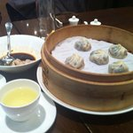 Black truffle & pork soup dumpling.