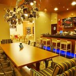 ホテル内のカフェ