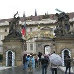 Entrada principal del Castillo de Praga