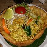 Thai Nudeln mit Hühnchen