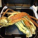 Historic/Main Bldg. - Crabs from Restaurant