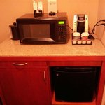 Room - microwave, refrigerator, coffee