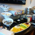 Concierge Lounge free buffet