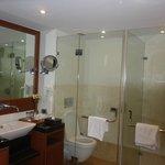 Bathroom No. 1 in the Suite