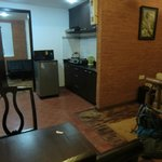 dinning room and kitchenette