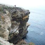 Overhang near Sea Lion island