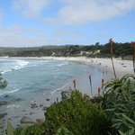 Carmel beach from the south