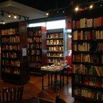 Restaurant Interior - Area for browsing books