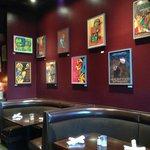 Restaurant artwork