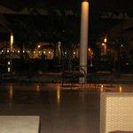 reception and lobby at night