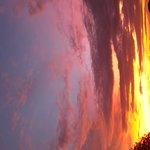Sunset at Sebayur Island
