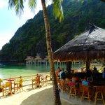 The Beach Bar from the Restaurant
