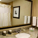 One of the nicest hotel bathrooms