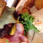 Aloha beef burger!
